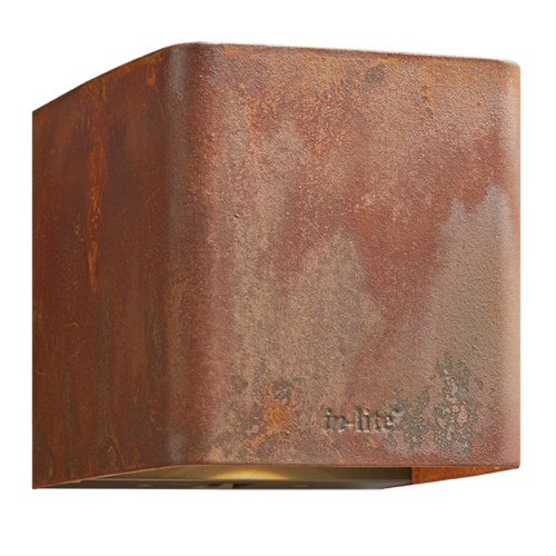 ACE up- en downlighter Corten 230V - In-lite ACE up- en downlighter Corten 230V - € 209
