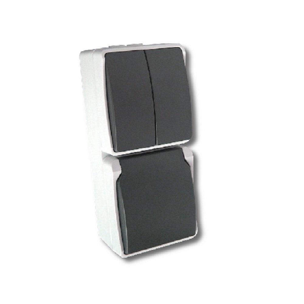 Elro Stopcontact Dubbel Double socket voor buiten Ou. 13763