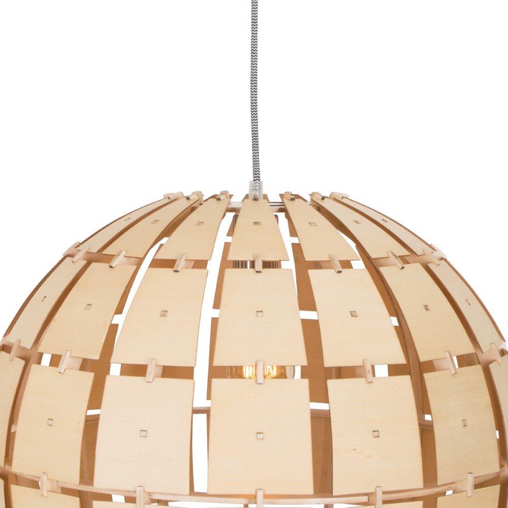 Steinhauer Houten hanglamp Woody Steinhauer 7818BE