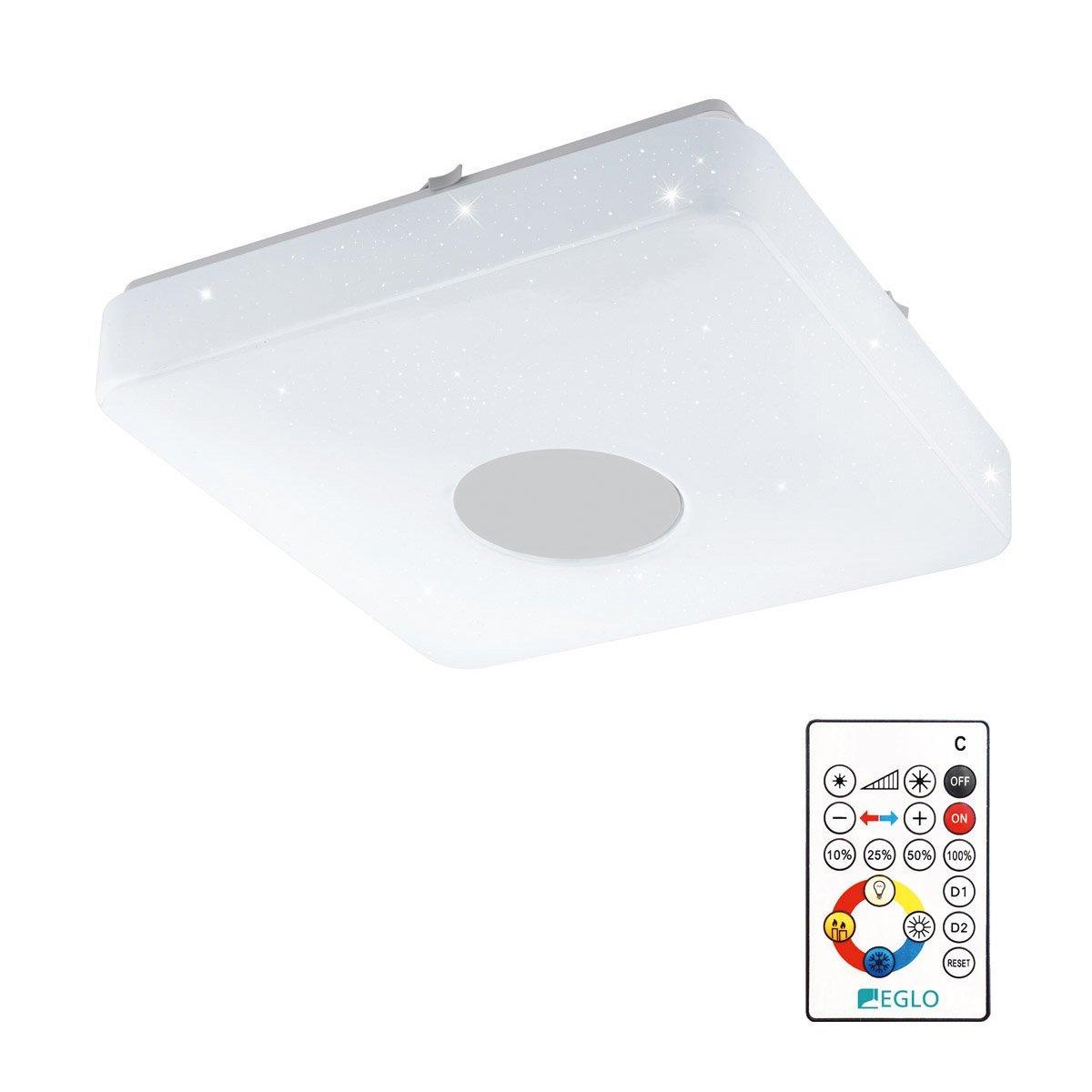 Eglo Plafonniere Voltago 2 RGB Crystal Eglo 95974