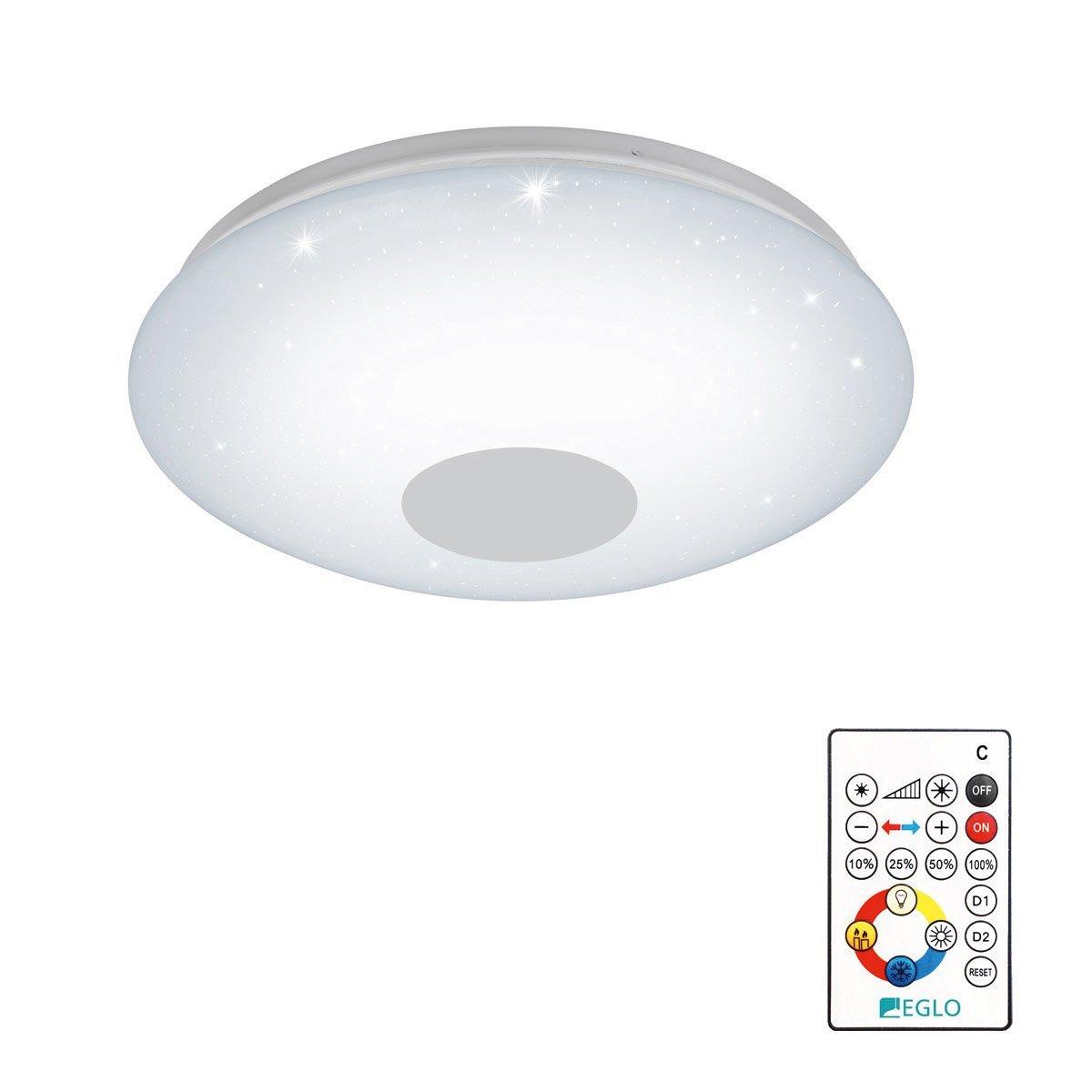 Eglo Plafonniere Voltago 2 RGB Crystal Eglo 95972