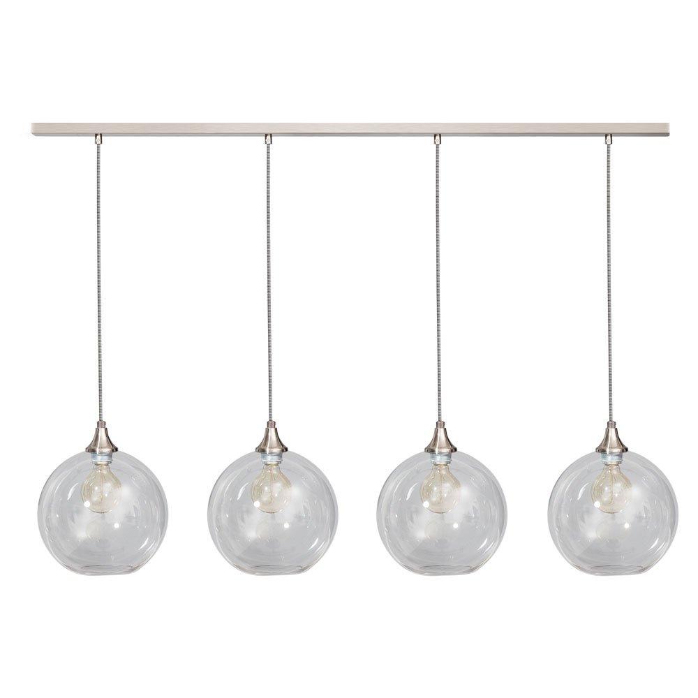 Glazen bol eettafellamp Calvello van ETH kopen   LampenTotaal