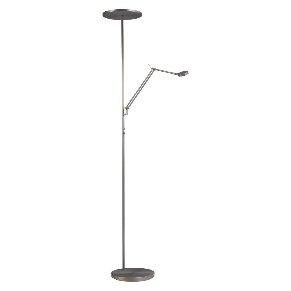 Masterlight Vloerlamp Denia 2 met leeslamp Masterlight 1081-37