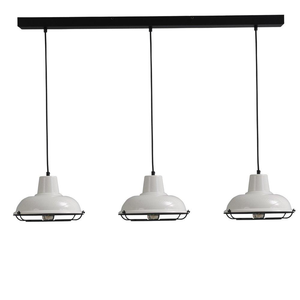 Masterlight Retro eettafellamp Industria 3x26 Masterlight 2045-06-C-100-3