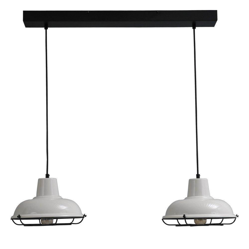 Masterlight Retor eettafellamp Industria 2x26 Masterlight 2045-06-C-70-2