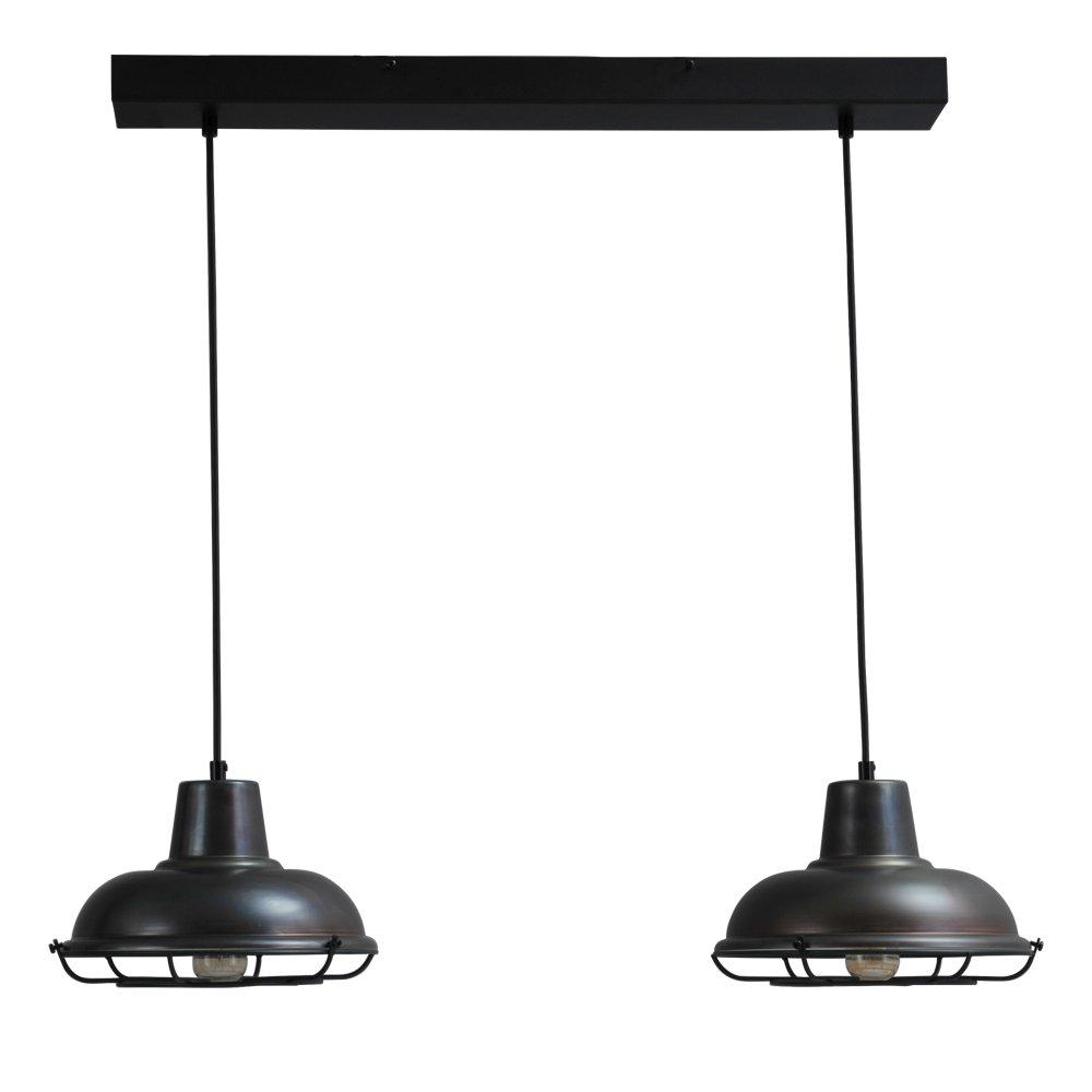 Masterlight Industrie eettafellamp Industria 2x26 Masterlight 2045-30-C-70-2