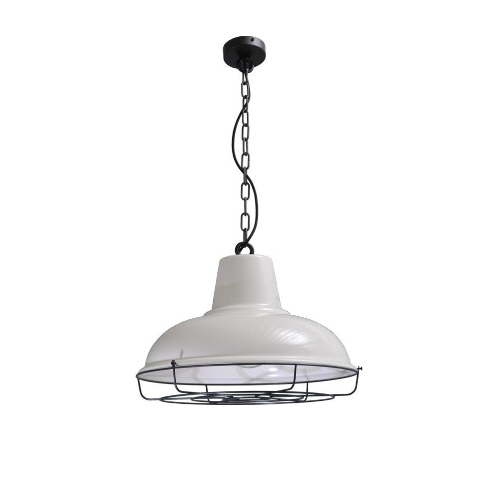 Masterlight Retro witte hanglamp Industria 48 Masterlight 2047-06-C-K