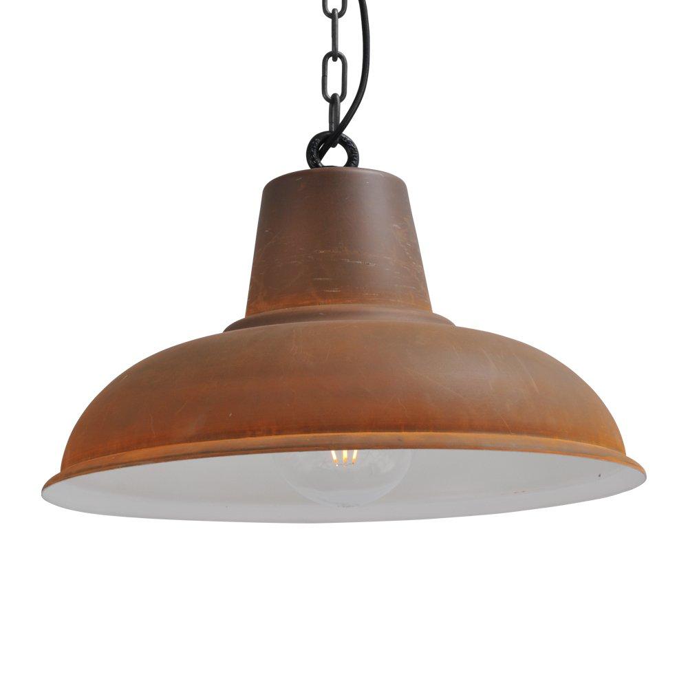 Masterlight Stoere roestbruine hanglamp Industria 48 Masterlight 2047-25-K