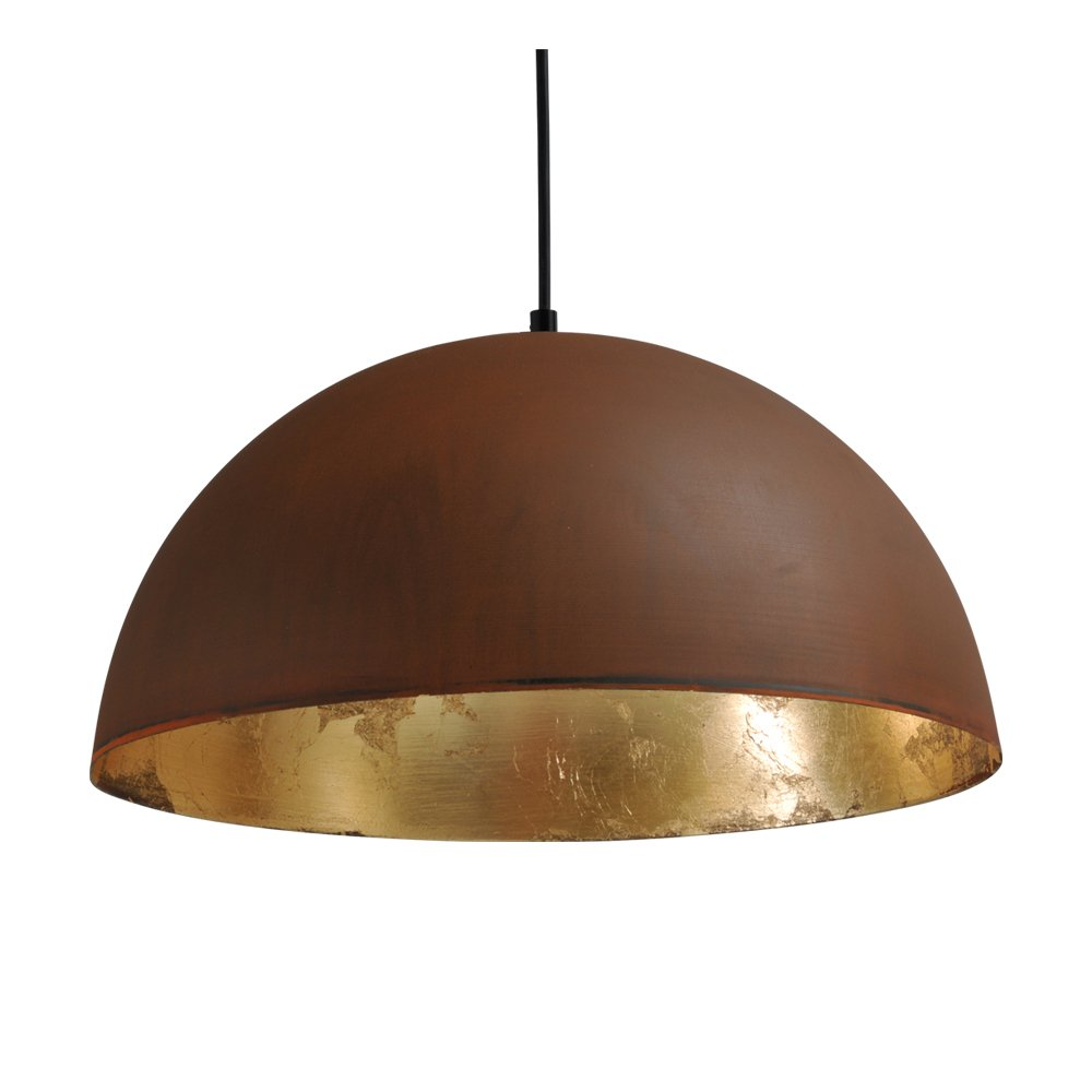 Masterlight Stoere hanglamp Industria Rust Gold 40 Masterlight 2198-25-08-S