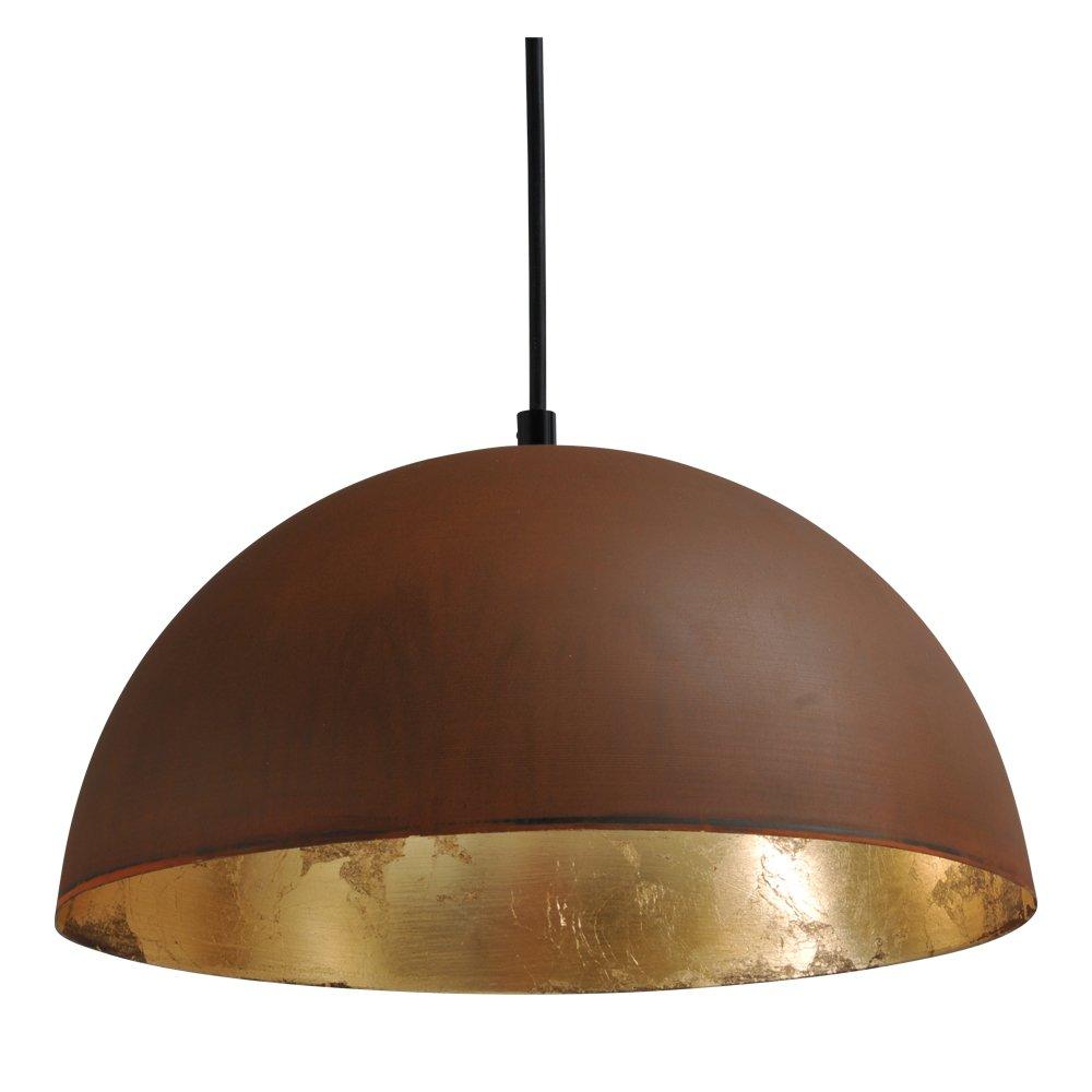 Masterlight Grote stoere hanglamp Industria Rust Gold 30 Masterlight 2199-25-08-S