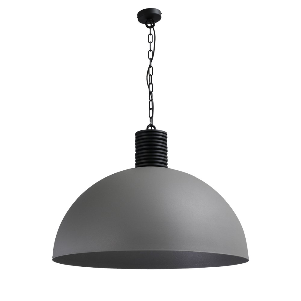 Masterlight Betongrijze industrie hanglamp Industria 80 Masterlight 2201-00-00-R-K