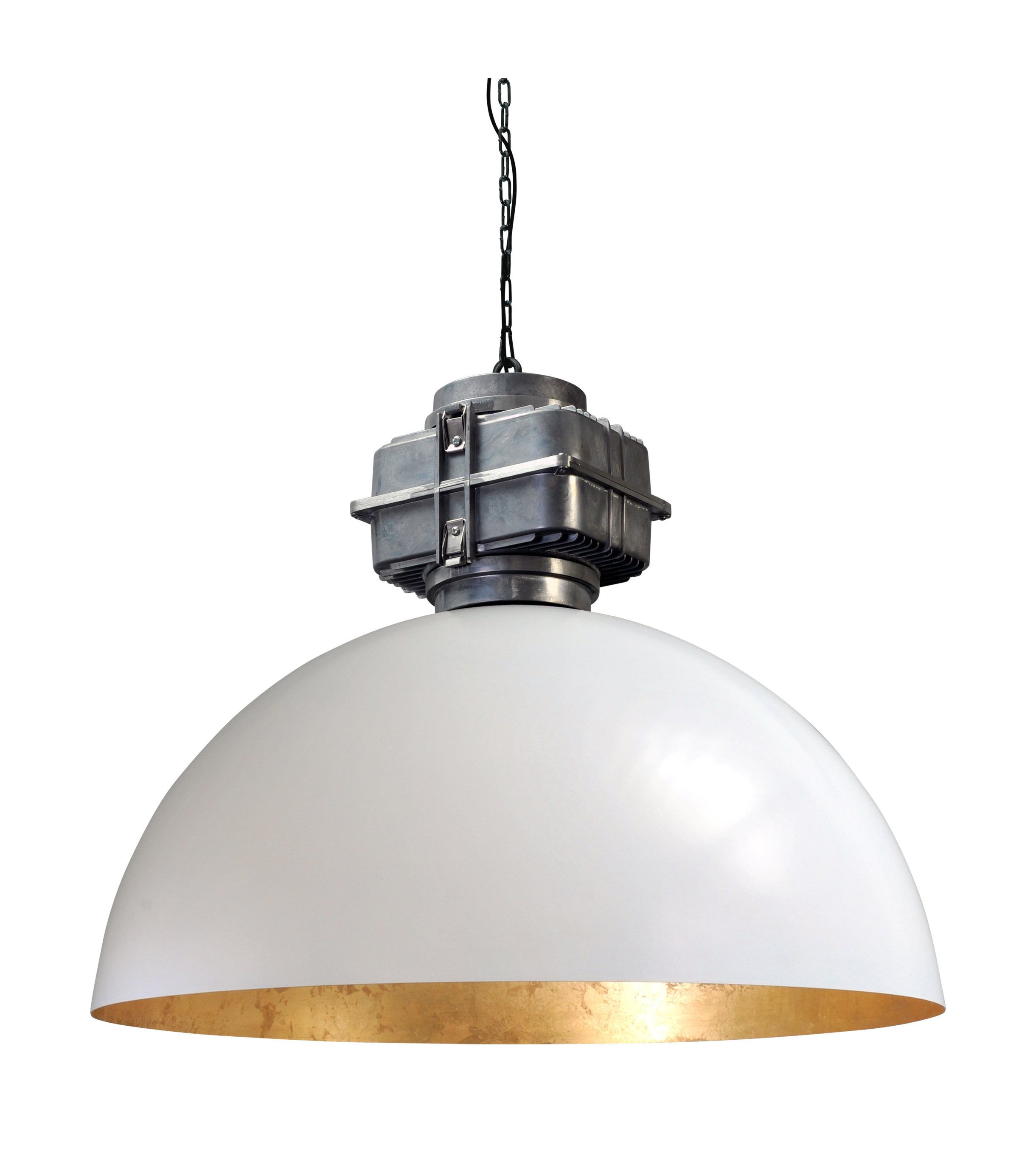 Masterlight Retro industrie hanglamp Industria Gold 80 Masterlight 2201-06-08-BL