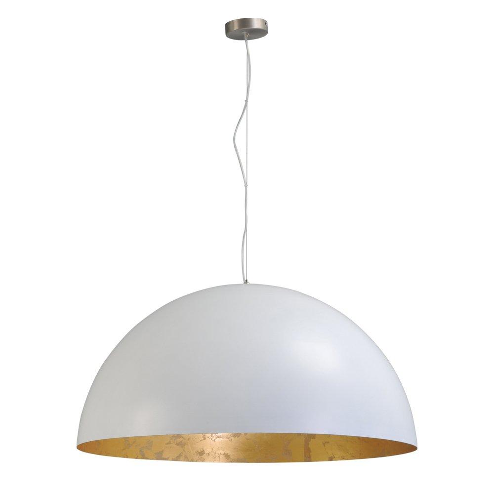 Masterlight Stoere witte hanglamp Concepto Gold 80 Masterlight 2201-06-08-ST