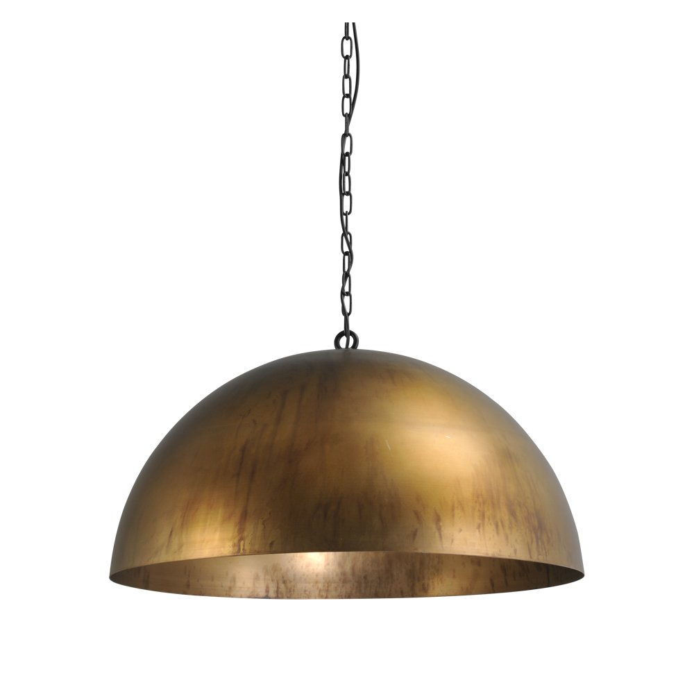Masterlight Bronzen hanglamp Industria 80 Masterlight 2201-10-10-K