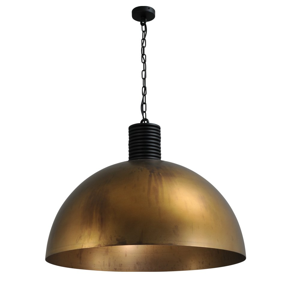 Masterlight Bronzen industrie hanglamp Industria 80 Masterlight 2201-10-10-R-K