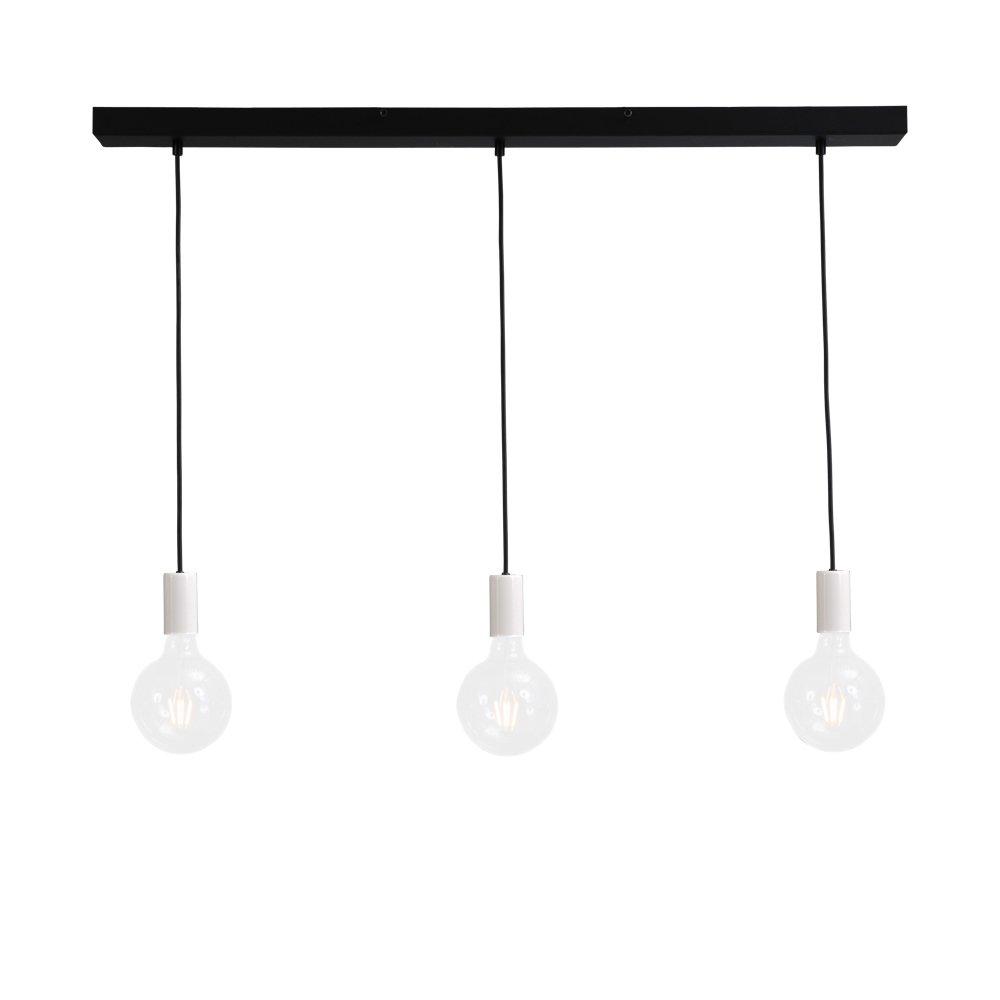 Masterlight Witte pendel hanglamp Concepto Masterlight 2237-06-100-3