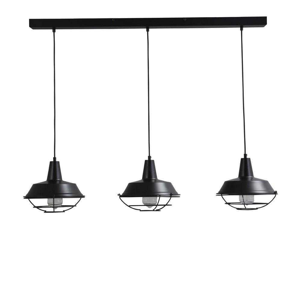 Masterlight Retro eetkamer lampjes Industria 3x25 Masterlight 2545-05-C-100-3