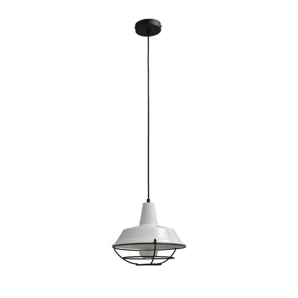 Masterlight Witte vintage hanglamp Industria 25 Masterlight 2545-06-C