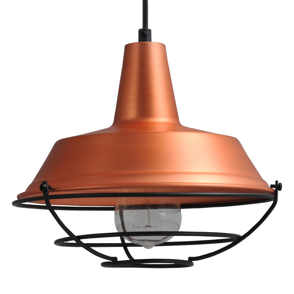 Masterlight Roodkoperen industrie hanglamp Industria 25 Masterlight 2545-55-C