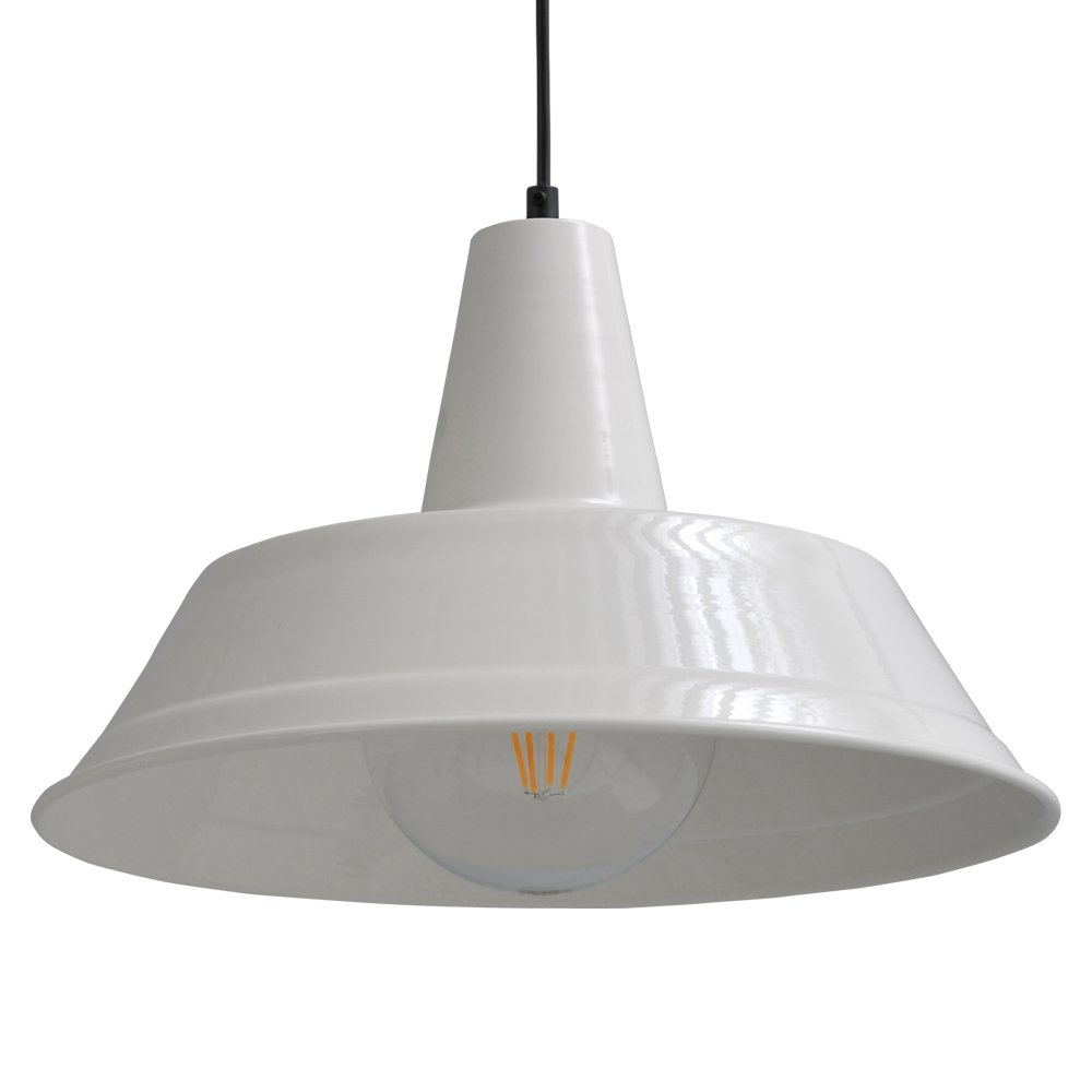 Masterlight Retro witte hanglamp Industria 35 Masterlight 2546-06