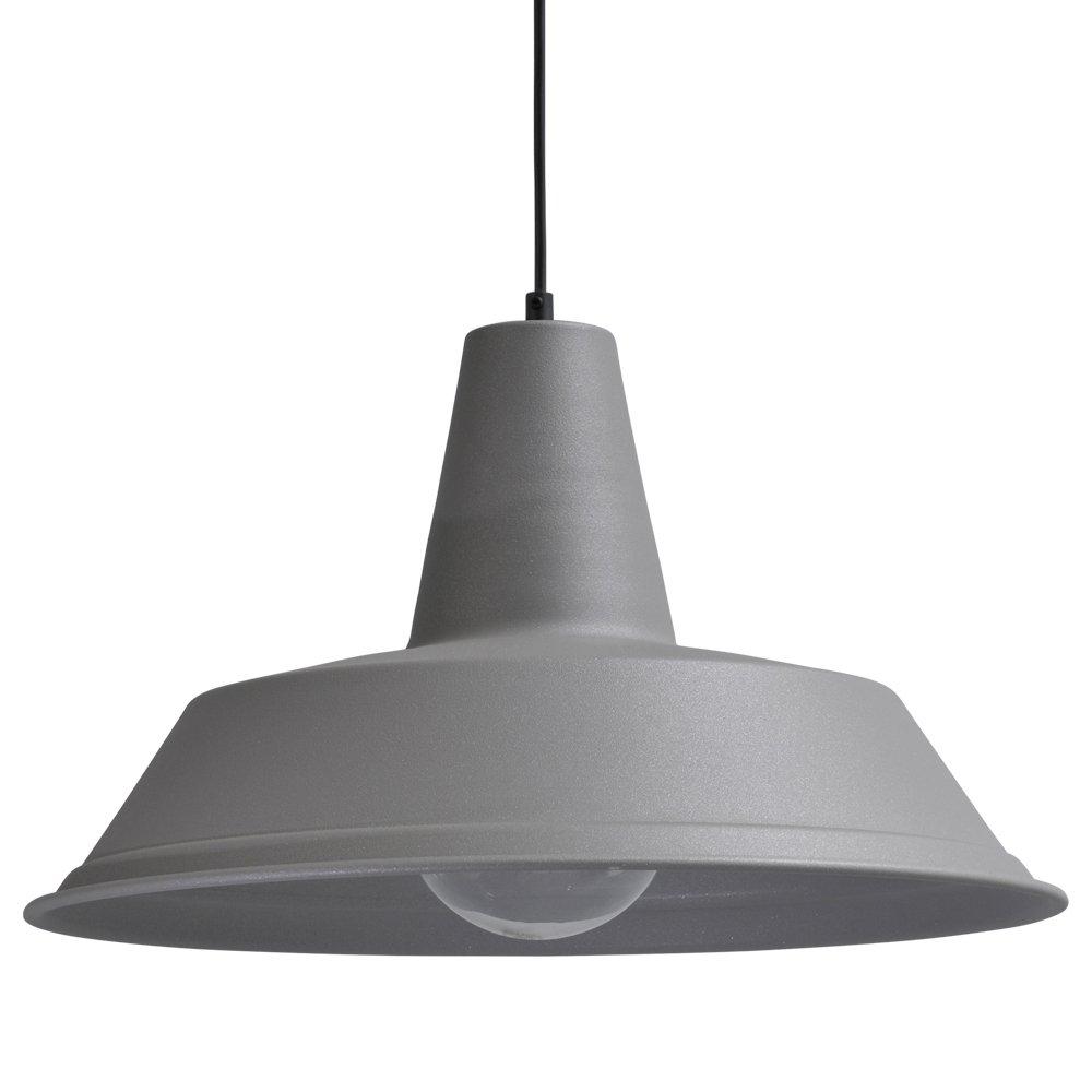 Masterlight Betongrijze retro hanglamp Industria 45 Masterlight 2547-00