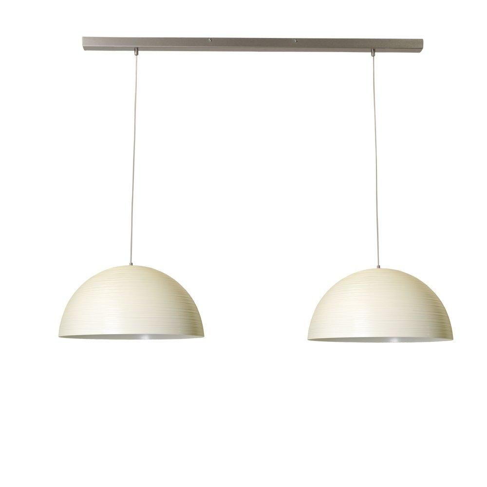 Masterlight Witte eettafellamp Concepto 2x45 Masterlight 2732-06-130-2