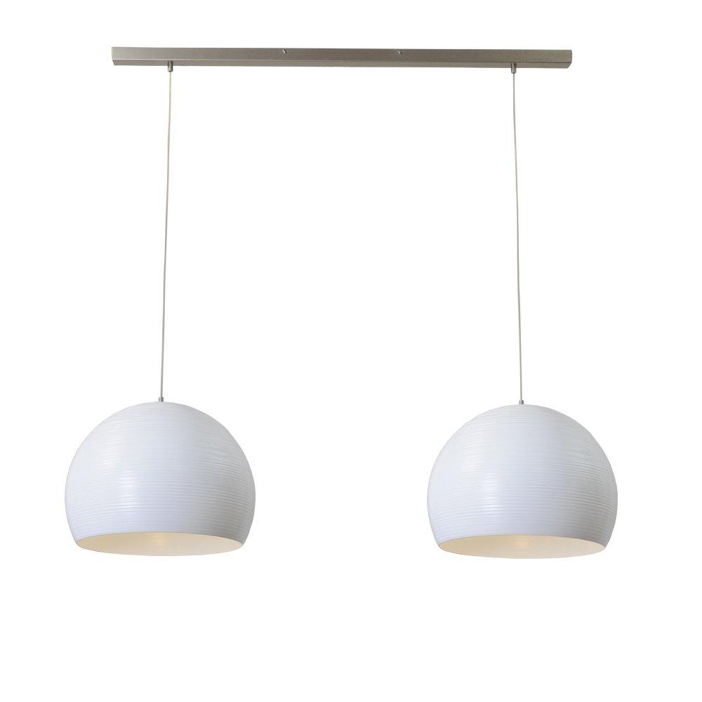 Masterlight Witte eetkamer hanglamp Concepto 2x40 Masterlight 2811-06-100-2