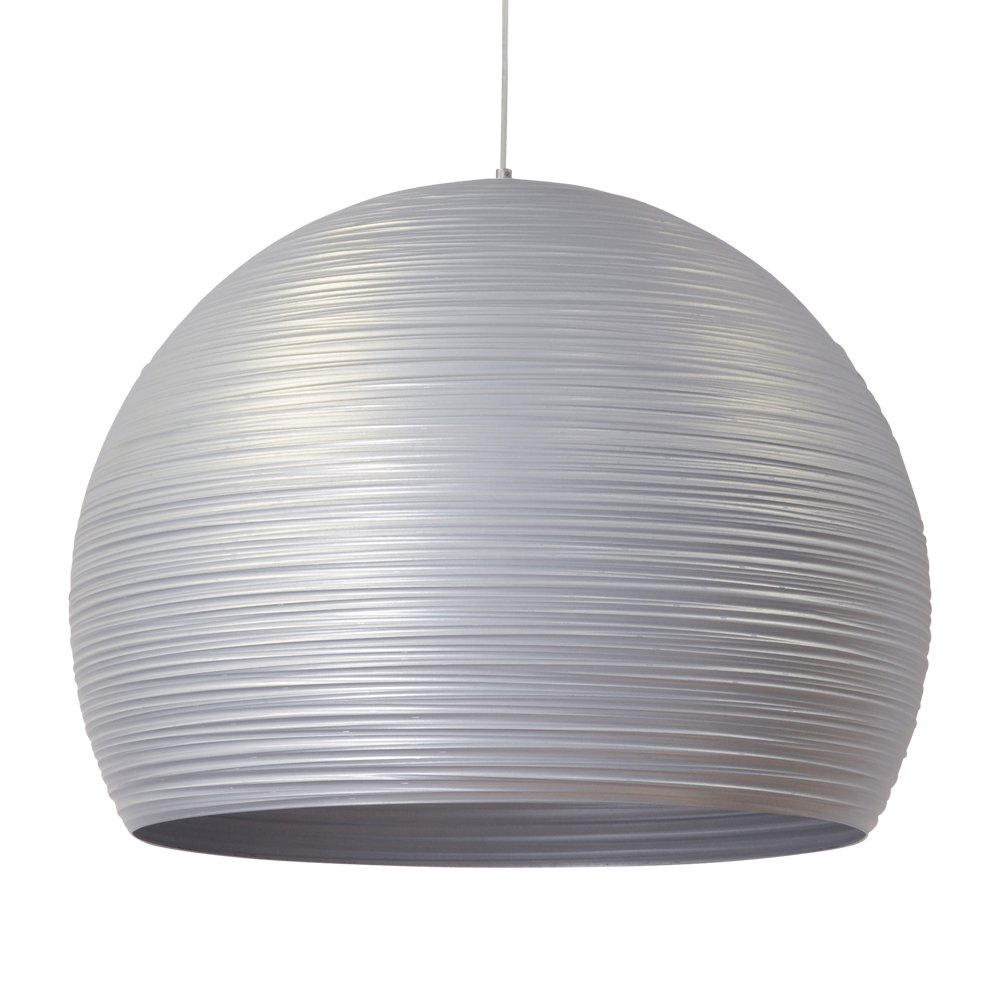 Masterlight Zilvergrijze hanglamp Concepto 50 Masterlight 2812-37