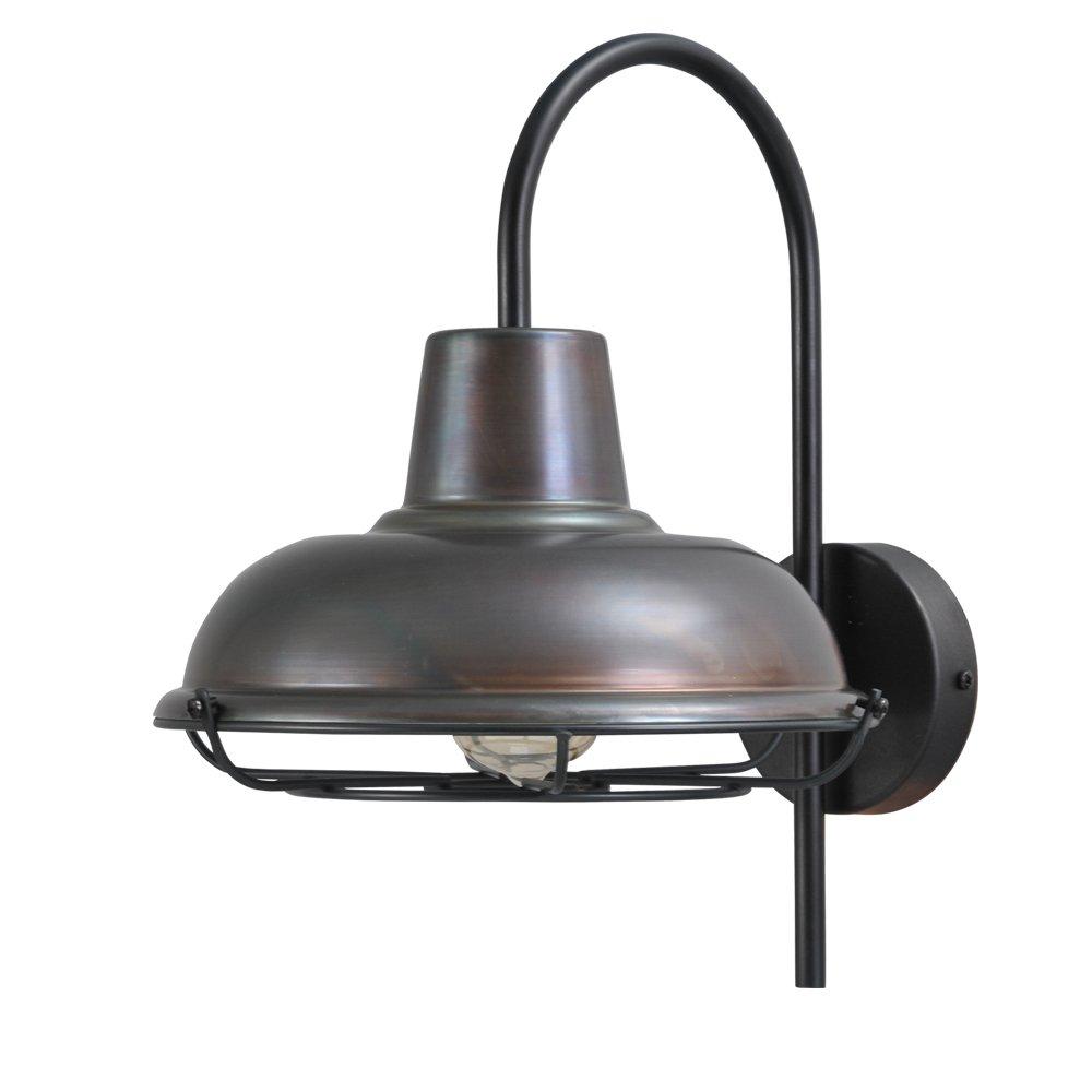 Masterlight Gunmetalen industrie wandlamp Industria Masterlight 3045-05-30-C