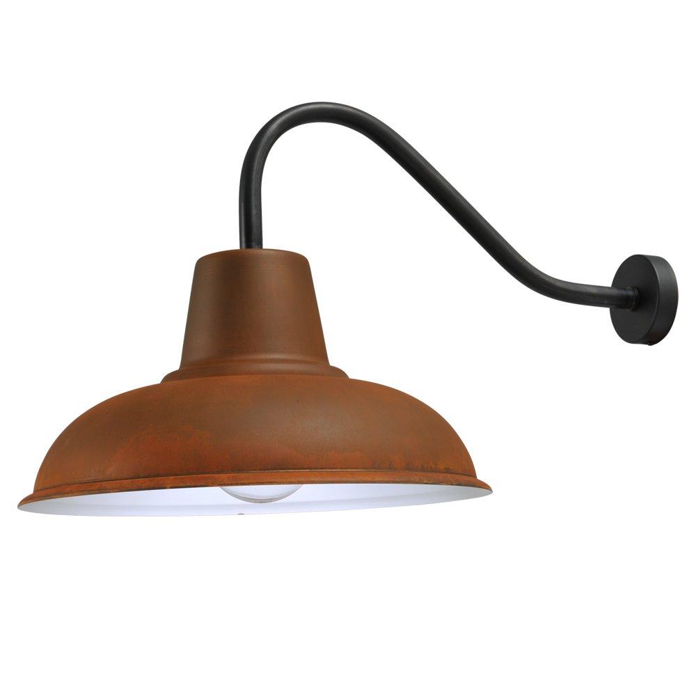Masterlight Roestbruine wandlamp Industria Masterlight 3047-05-25