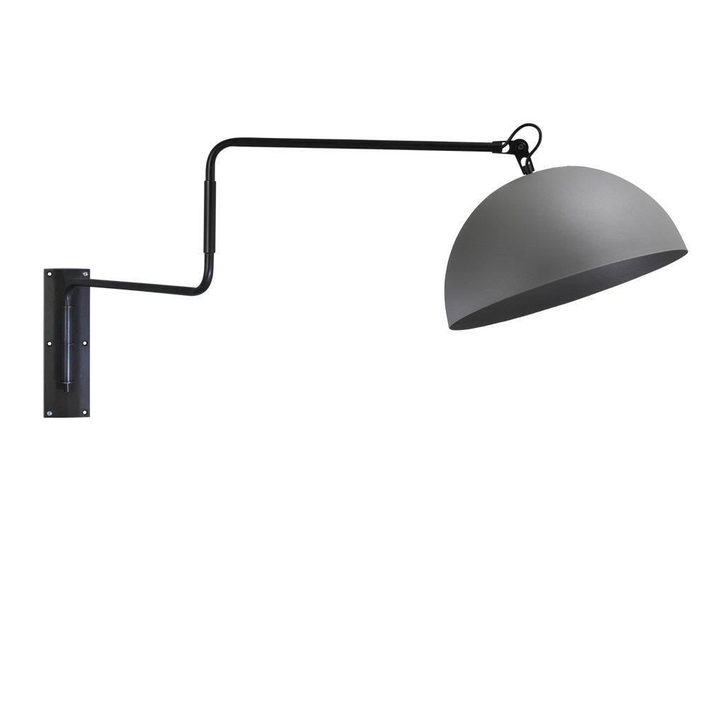 Masterlight Betongrijze muurleeslamp Industria 40 Masterlight 3198-00-00
