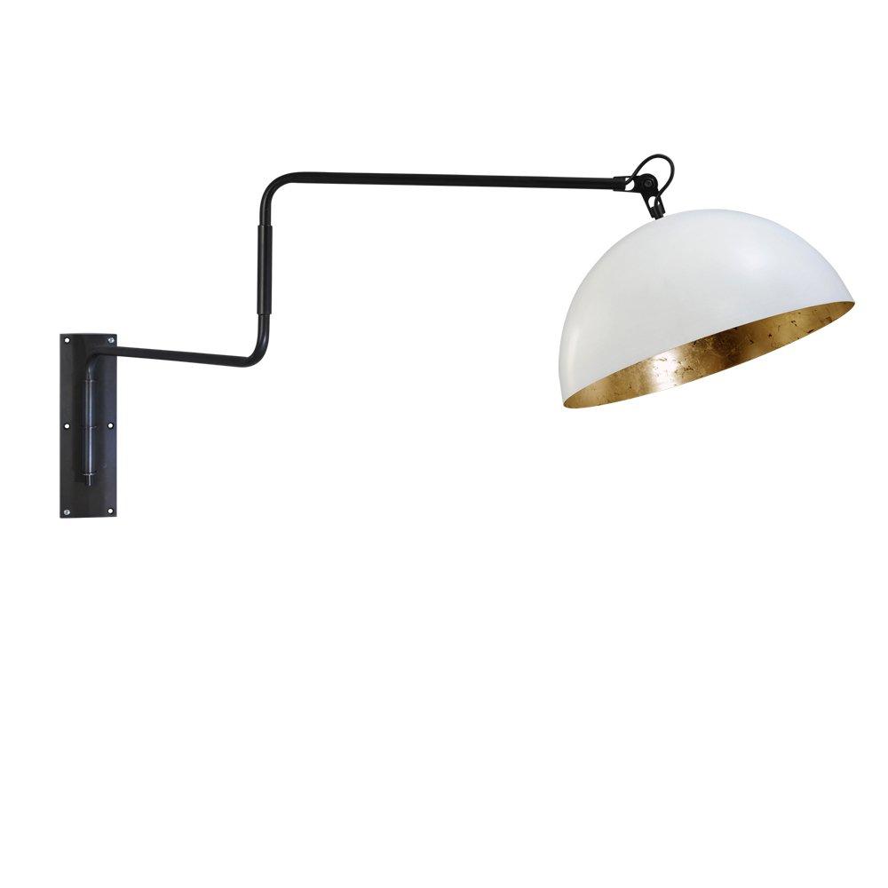 Masterlight Verstelbare wandleeslamp Industria Gold Masterlight 3198-06-08