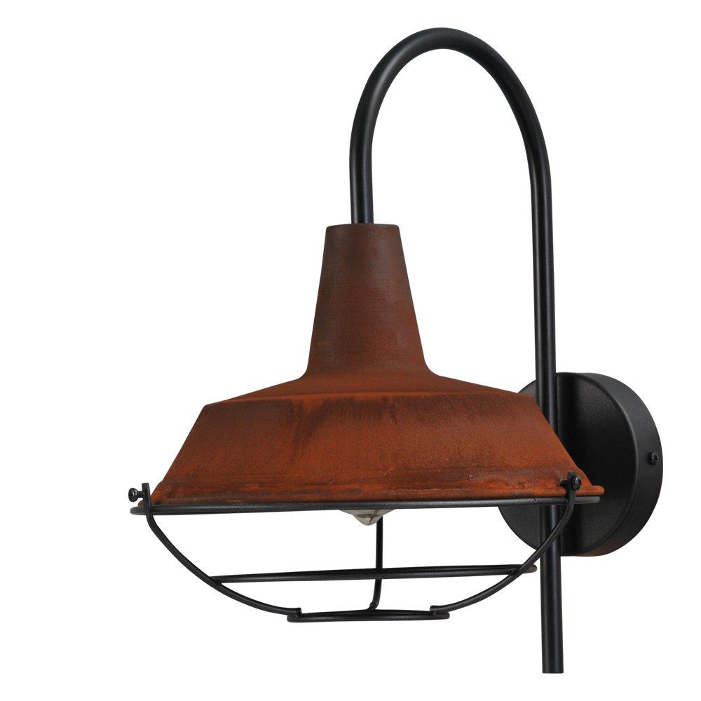 Masterlight Roestbruine industrie wandlamp Industria Masterlight 3545-05-25-C