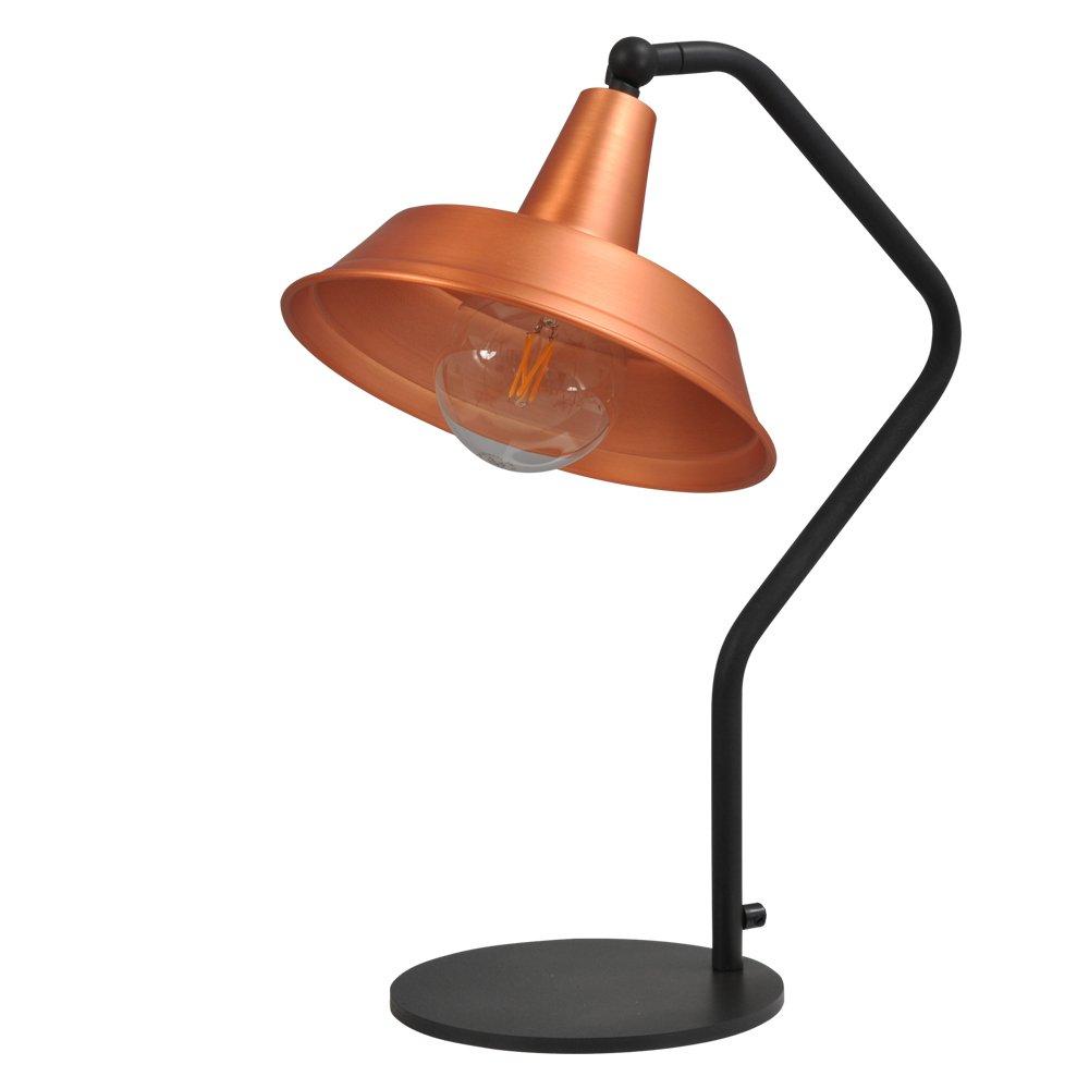 Masterlight Roodkoperen leeslamp Industria Masterlight 4037-05-55