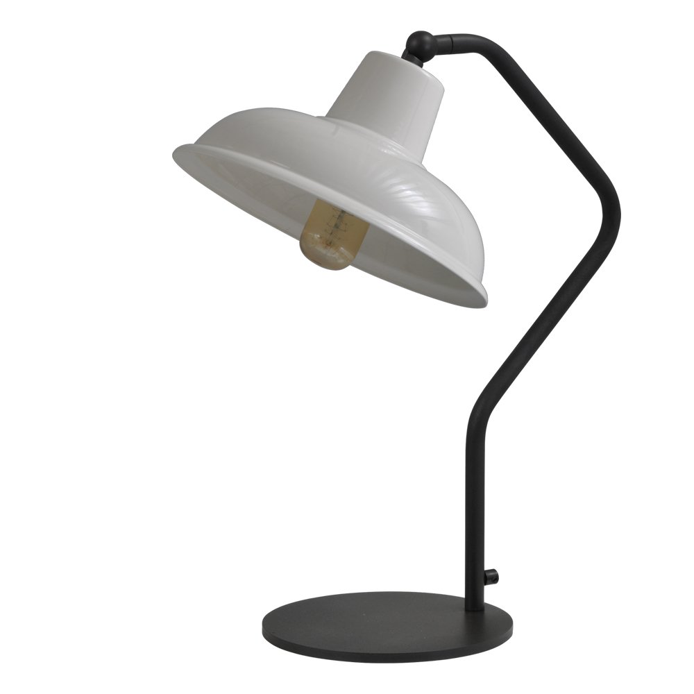 Masterlight Retro witte leeslamp Industria Masterlight 4045-05-06