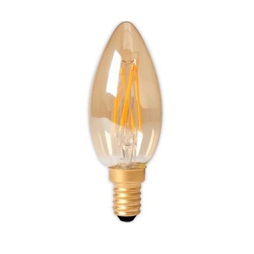 3,5W - E14 - Candle - Led - Filament Gold - 474489 - € 4,2