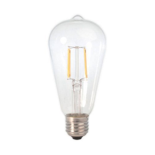 6W - E27 - ST64 - Led - Filament Clear - Ec. 474754 - € 17,95
