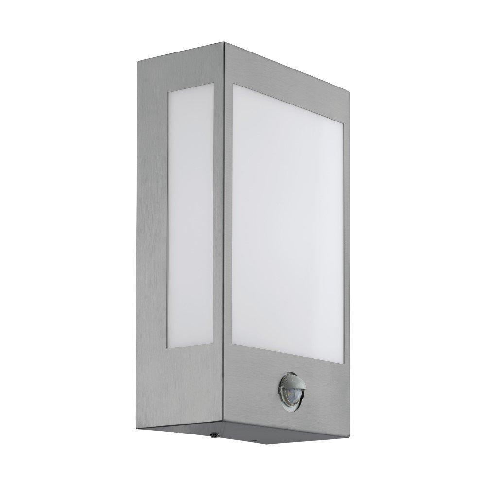 Eglo RVS wandlamp Ralora 1 met senor Eglo 95989