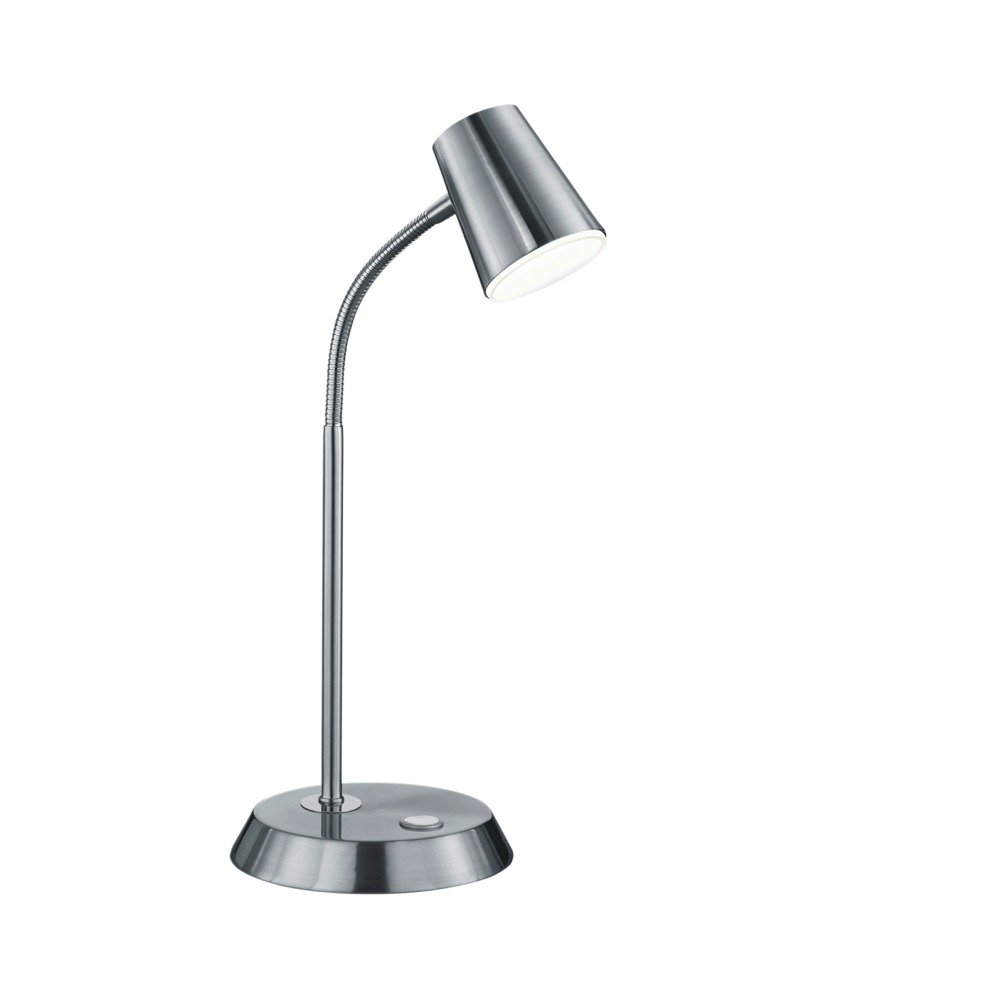 Trio international Bureaulamp nikkel Narcos Trio 573190107