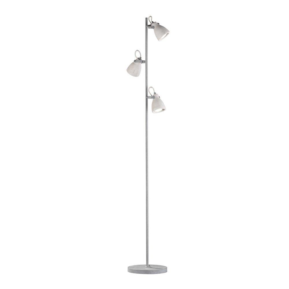 Vloerlamp Concrete 3 Lichts