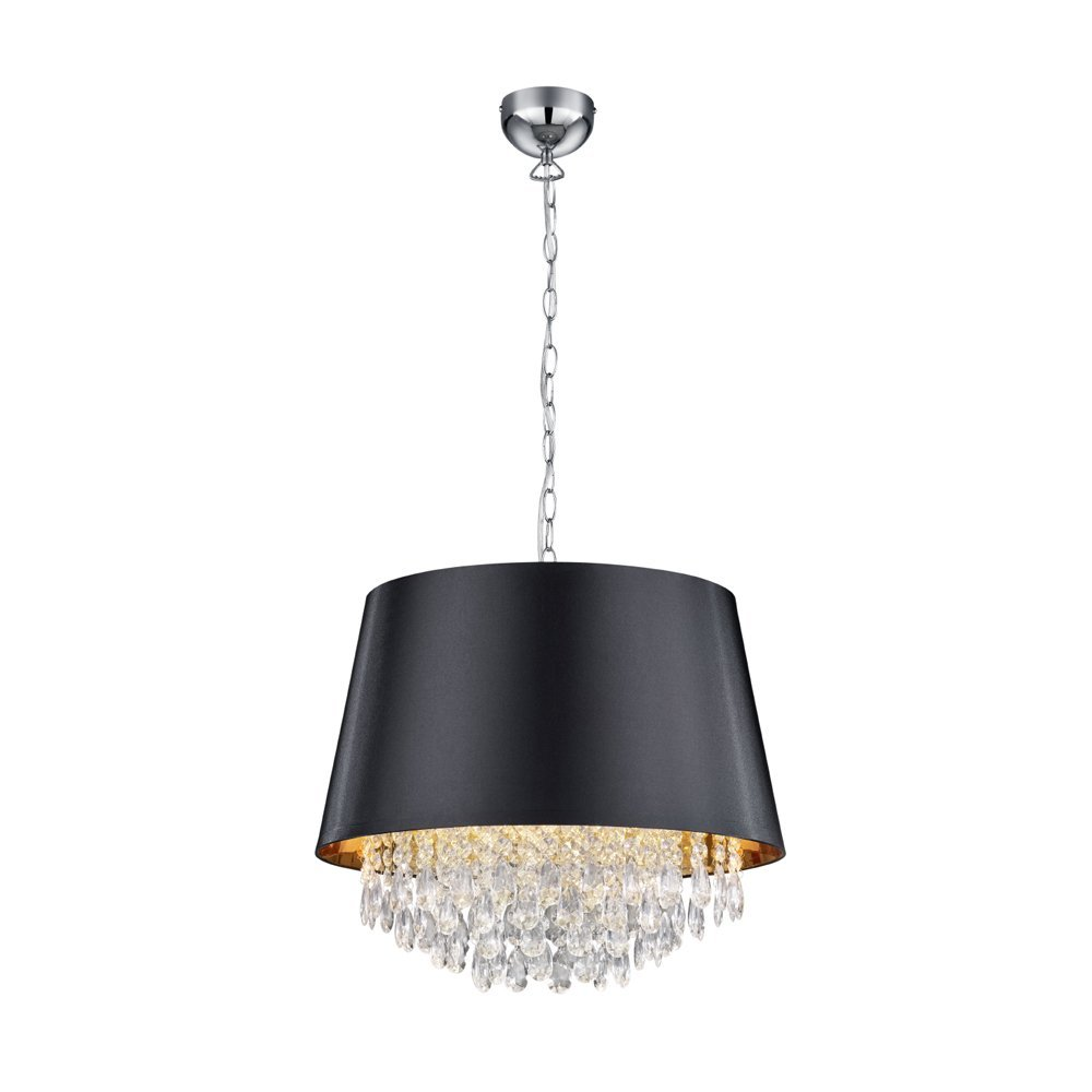 Trio international Schemer hanglamp Loreley met kristal Trio 309300302