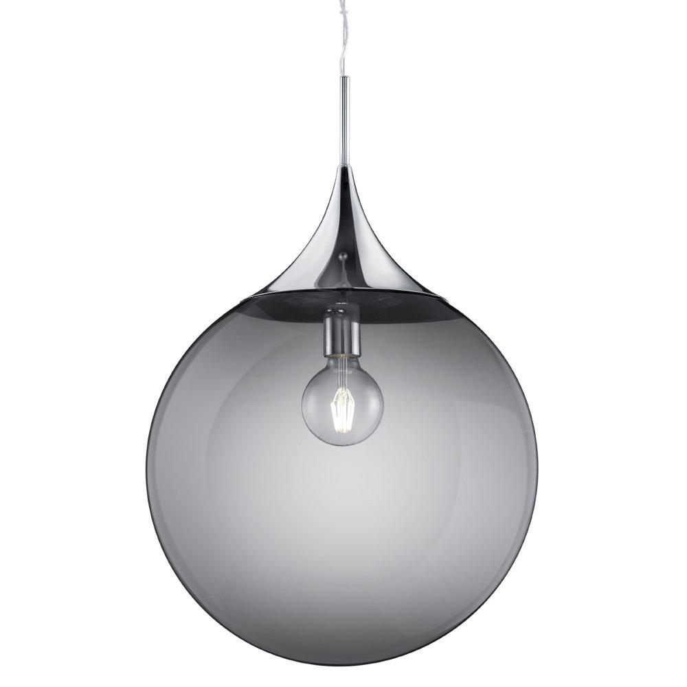 Trio international Glazen hanglamp Midas Trio 301690106