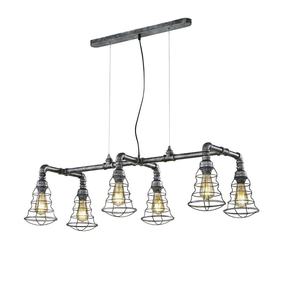 Trio international Hanglamp Gotham Fitter industrieel Trio 307000688