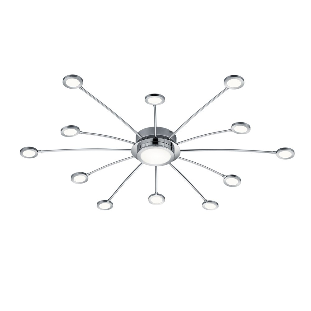 Trio international Plafond spin lamp Bodrum Trio 673311306