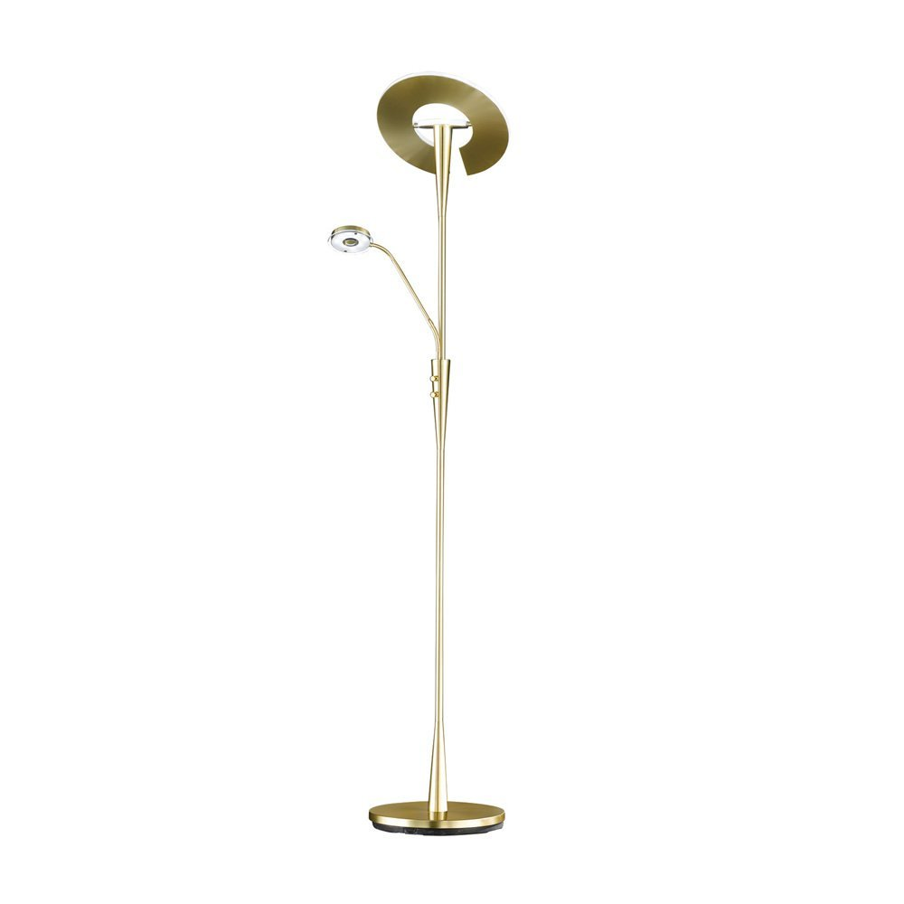 Trio international Design vloerlamp met leeslampje Quebec Trio 422710308