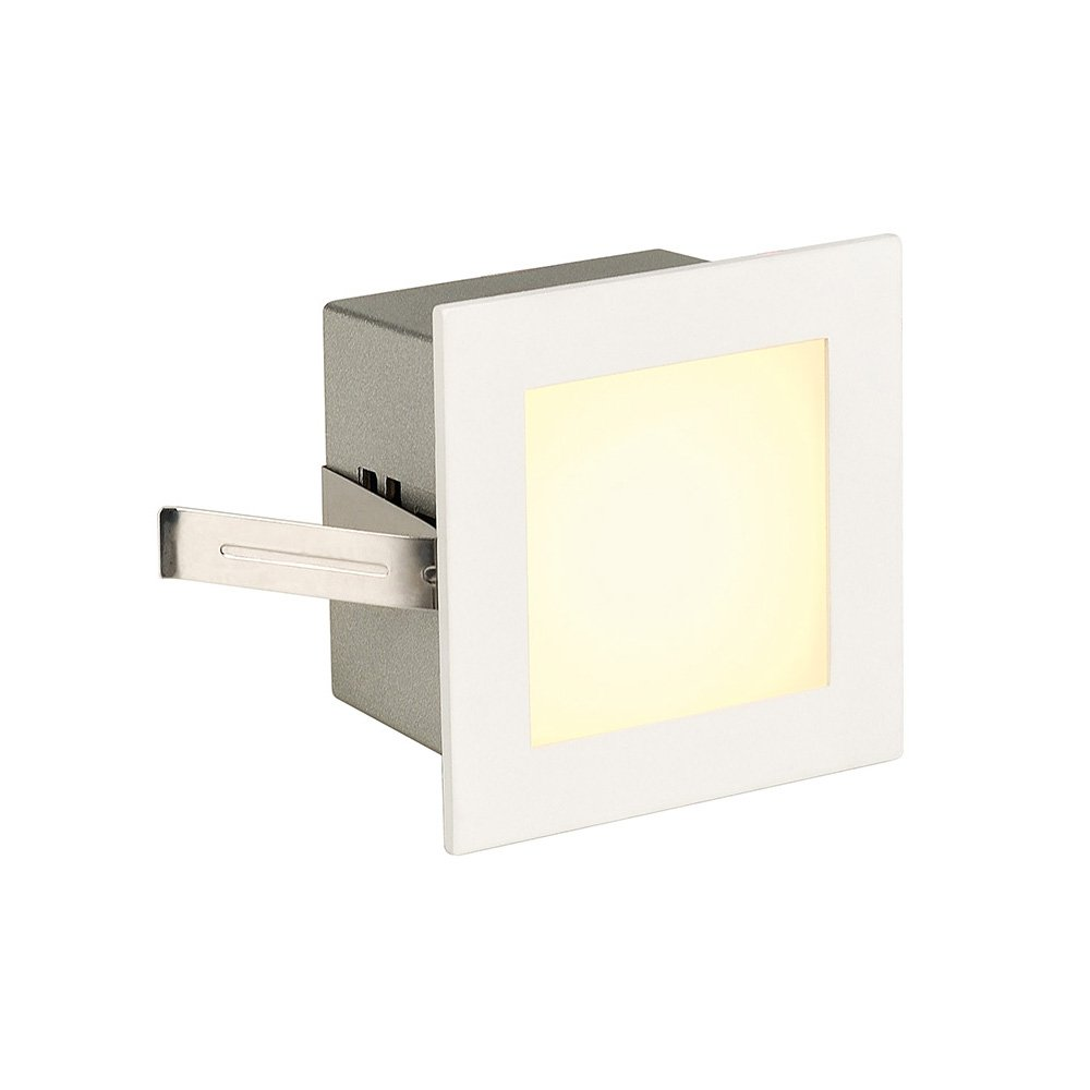 SLV LED-inbouwlamp Frame Basic 1 W Wit (mat) 113262