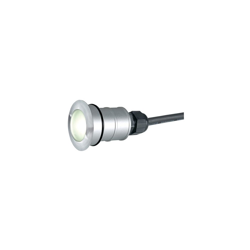 SLV POWER TRAIL-LITE ROUND edelstaal 316 1W LED ww, 228332