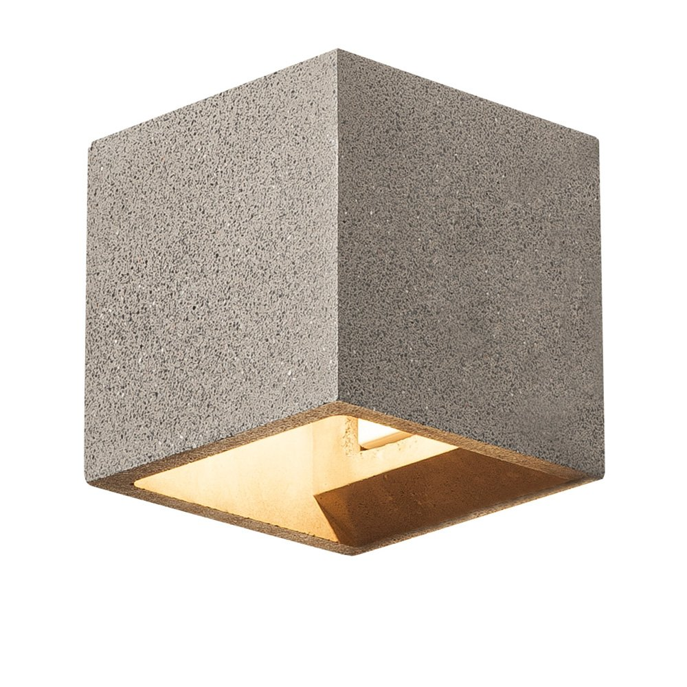 SLV - verlichting Wandlamp Solid Cube Up-Down SLV. 1000911
