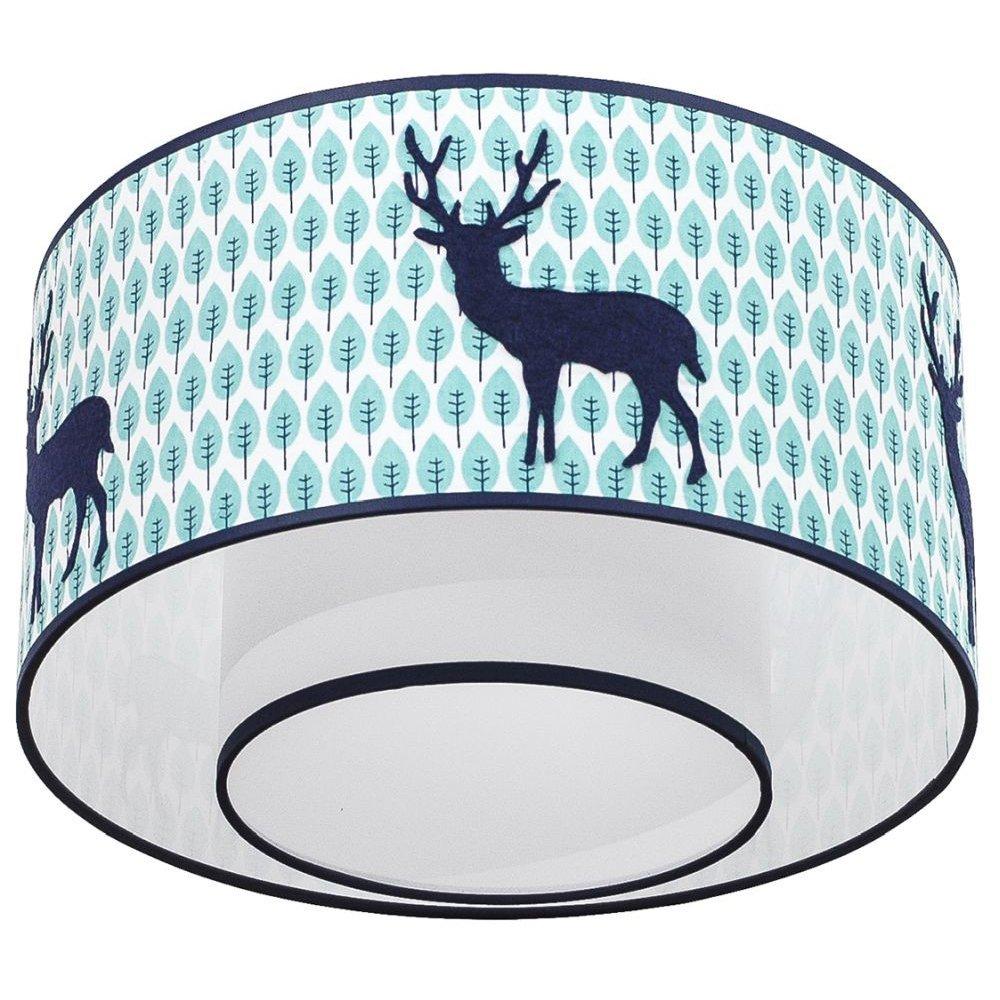 Taftan Plafondlamp Hert Blauw