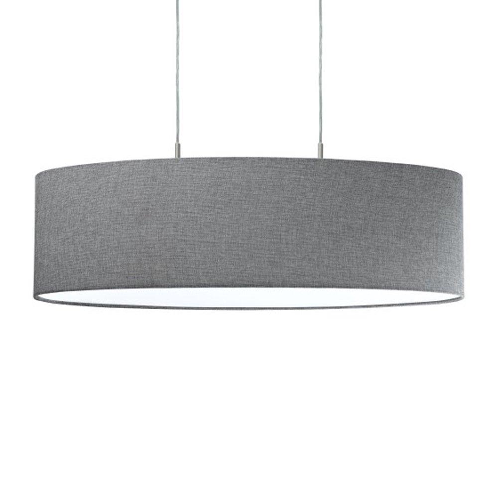EGLO Hanglamp Pasteri grijs 75 cm
